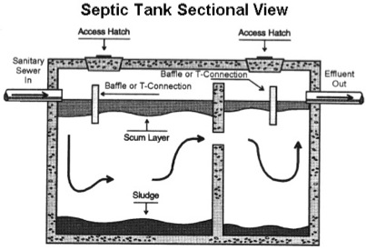 Pin Typical Septic Tank Layout On Pinterest